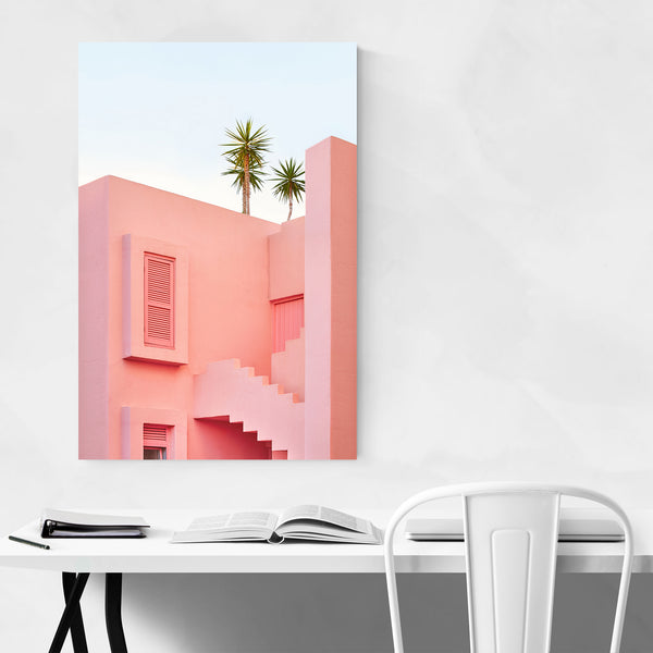 Architecture La Muralla Roja Spain Art Print