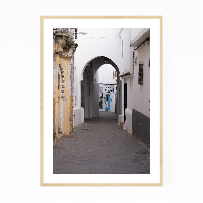 Tangier Morocco Photography Framed Art Print