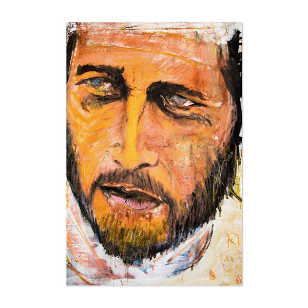 Paul Newman TV Movies Portrait Art Print