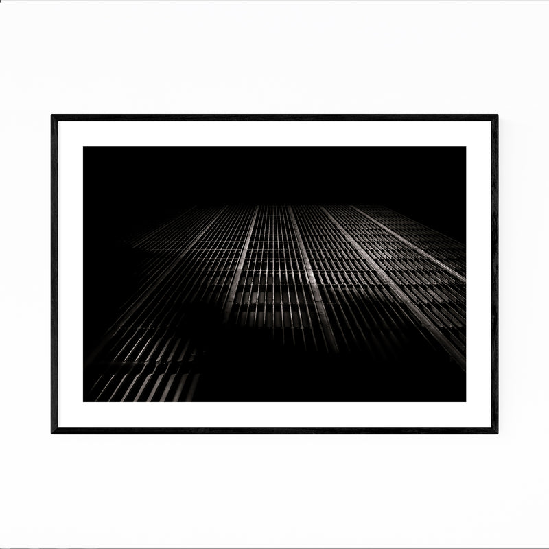 Toronto Architecture Abstract Framed Art Print