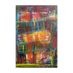 Abstract Expressionist Painting  Art Print