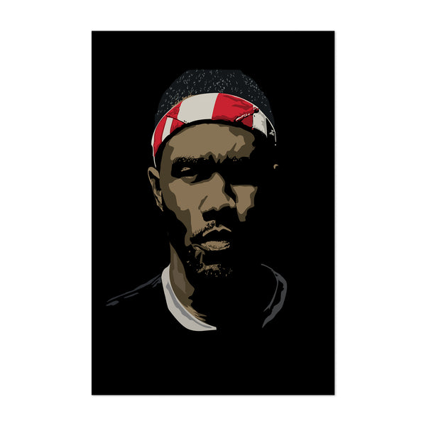Frank Ocean R&B Music Portrait Art Print