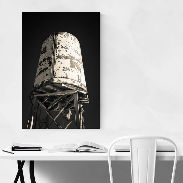 Old Water Tower Abandoned Photo Art Print