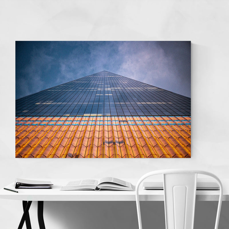 Manhattan NYC Modern Architecture Art Print