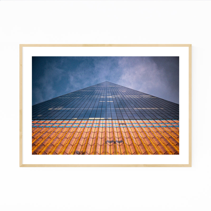 Manhattan NYC Modern Architecture Framed Art Print