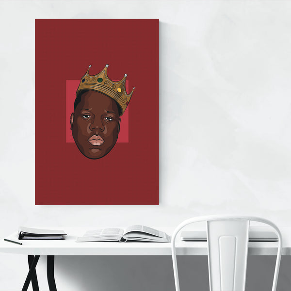 Biggie Smalls Music Poster Art Print