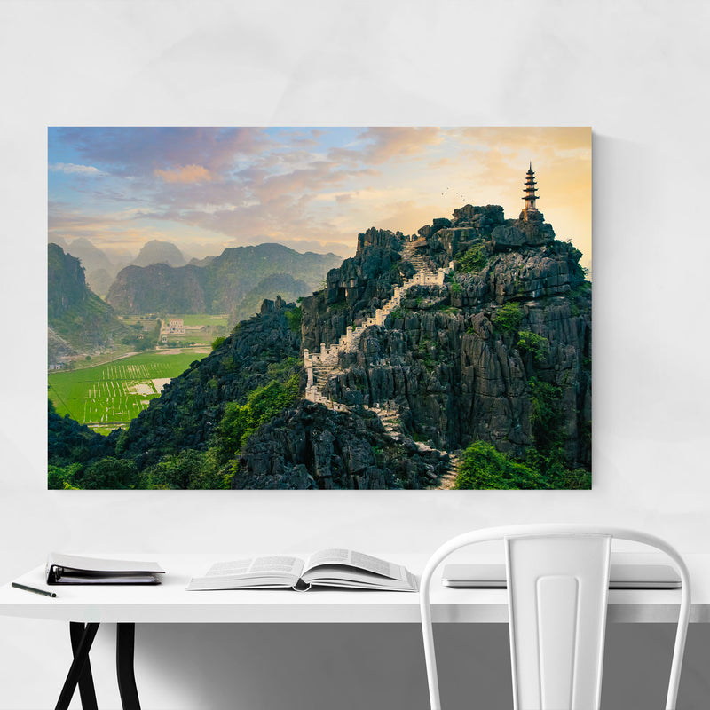Tam Coc Vietnam Architecture Photo Art Print