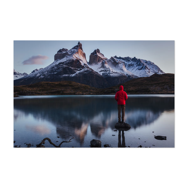 Torres Del Paine National Park Chile Art Print