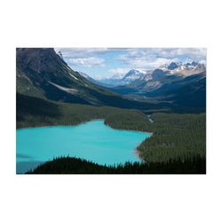 Peyto Lake Banff Alberta Photo Art Print