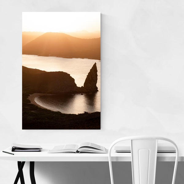 Galapagos Beach Coastal Photo Art Print