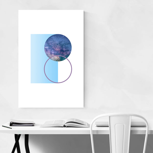Abstract Geometric Nature Modern Art Print
