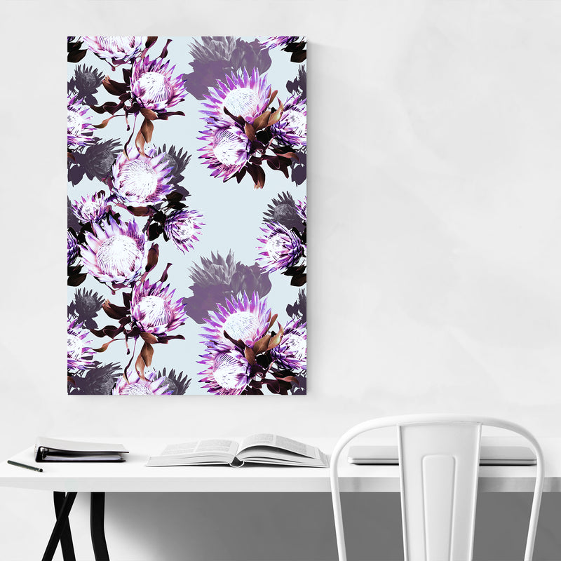 Floral Botanical Nature Pattern Art Print