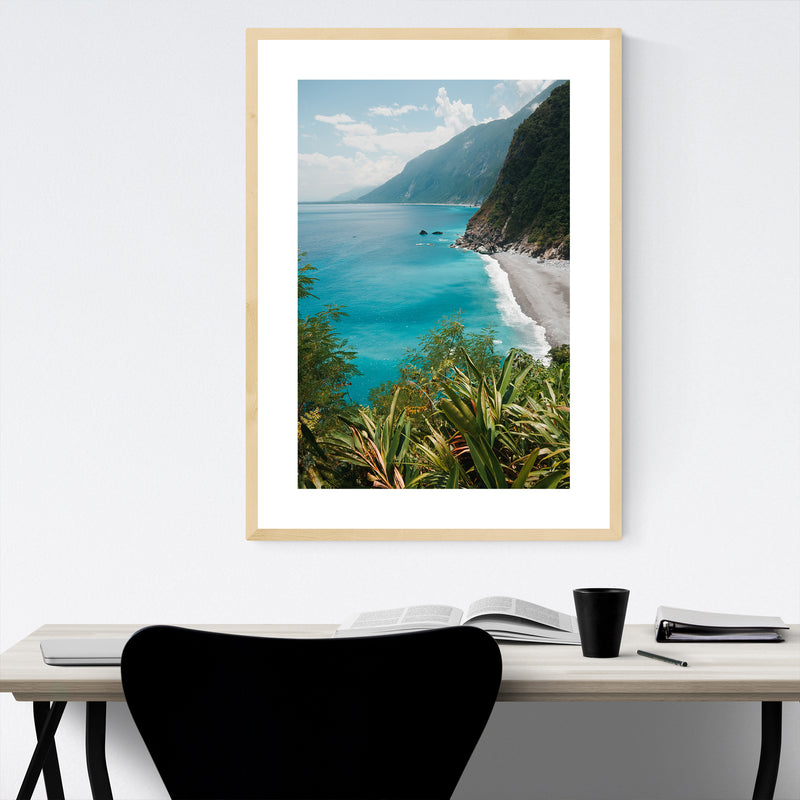 Hualien City Taiwan Photography Framed Art Print