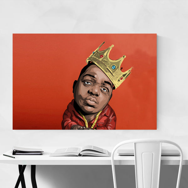 Notorious BIG Hip Hip Music Art Print