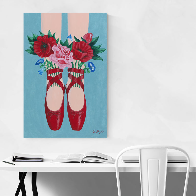 Fashion Women Floral Botanical Art Print