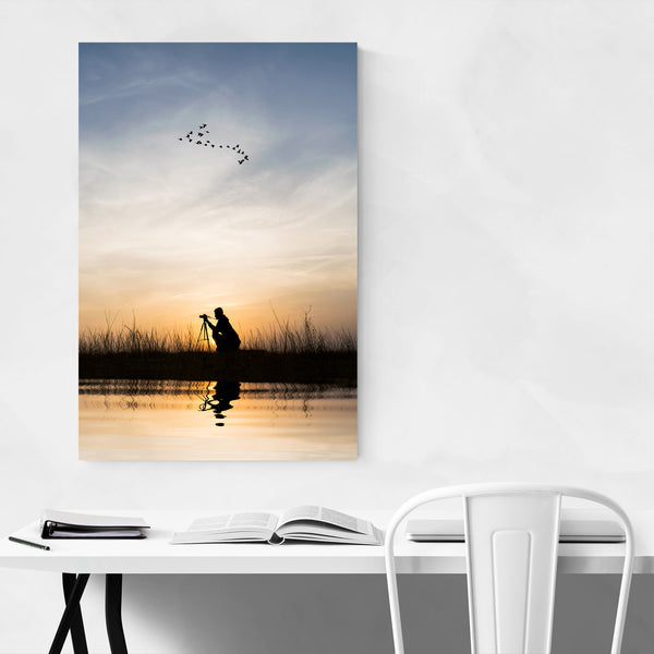 Photographer Natiure Sunset Art Print