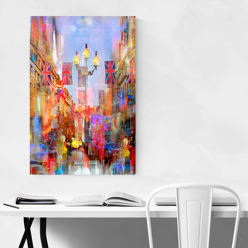 City Abstract Art Set