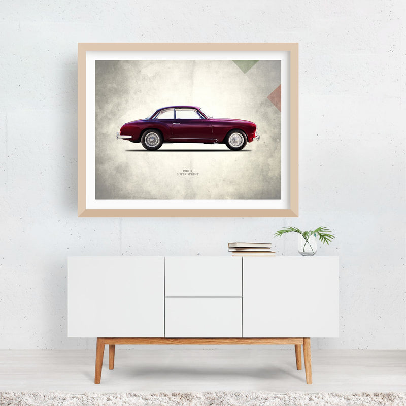 Alfa Romeo Cars Sports Framed Art Print