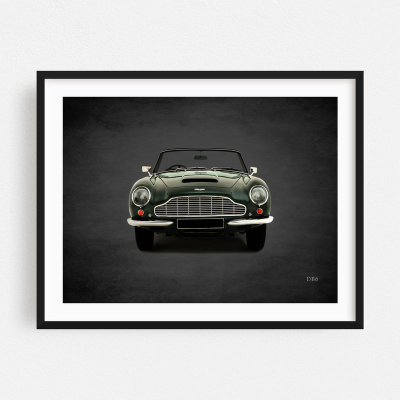 Aston Martin Cars Sports Framed Art Print