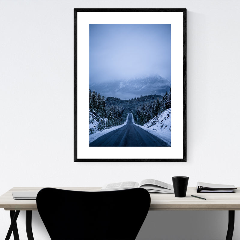 Jasper Alberta Photography Framed Art Print