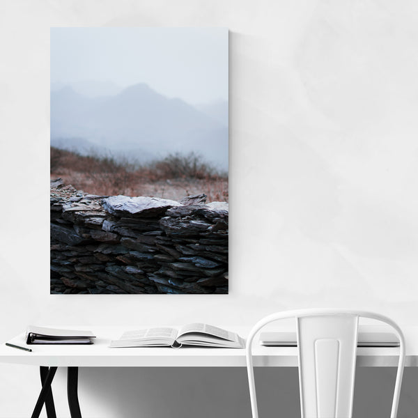Mountains Nature India Art Print