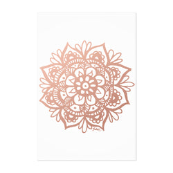 Mandala India Bohemian Design Art Print
