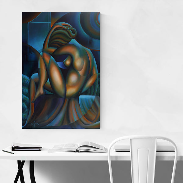 Nude Figurative Abstract Painting Art Print