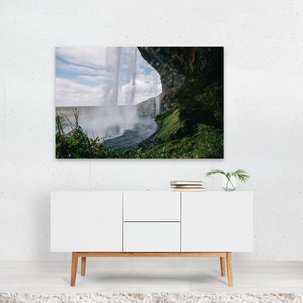 Storidalur Iceland Waterfall Photo Art Print