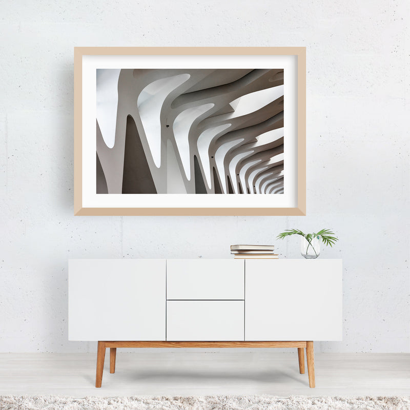Marrakech Morocco Modern Architecture Framed Art Print
