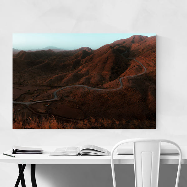 Udaipur India Mountains Nature Art Print