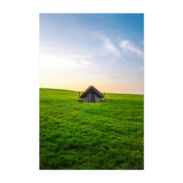 Stavanger Norway Rural Farm Photo Art Print