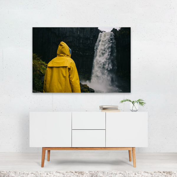 Svartifoss Iceland Waterfall Photo Art Print