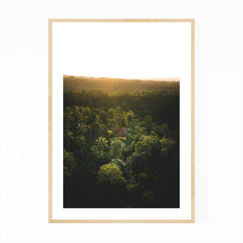 Bali Indonesia Nature Photography Framed Art Print