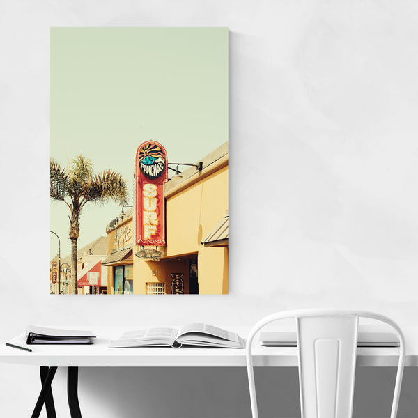 Surfer Gift Coastal California Art Print