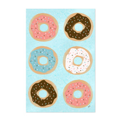 Donuts Food Kitchen Cooking Gift Art Print