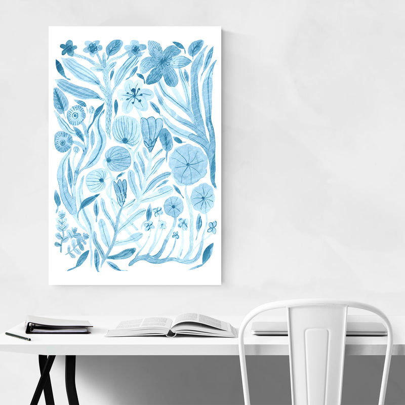 Floral Botanical Illustration Art Print