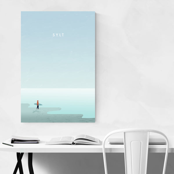 Sylt Germany Vintage Travel Art Print