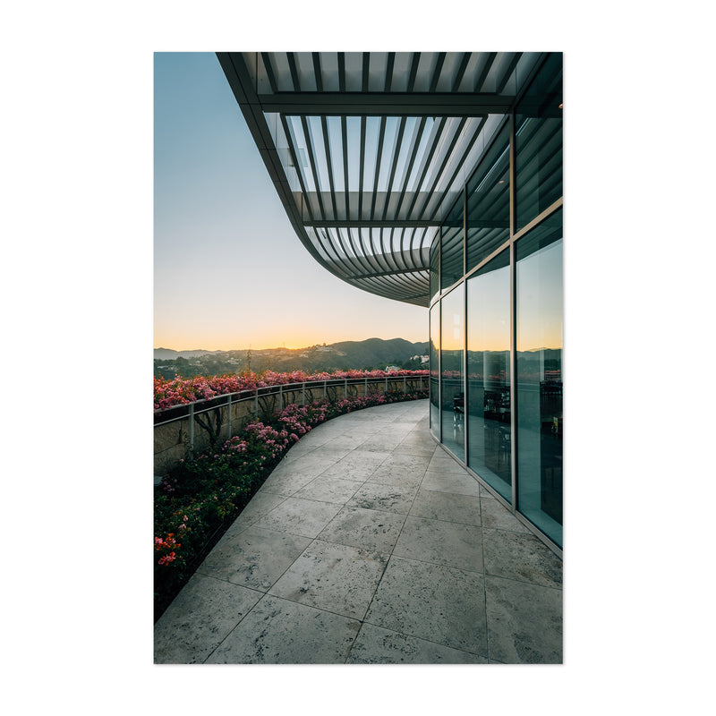 Getty Center Los Angeles California Art Print