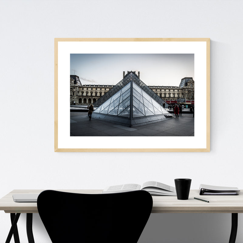 Paris France Architecture Photo Framed Art Print