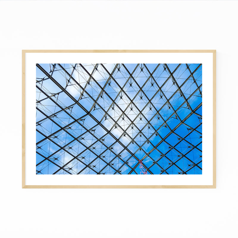 Paris France Architecture Urban Photo Framed Art Print