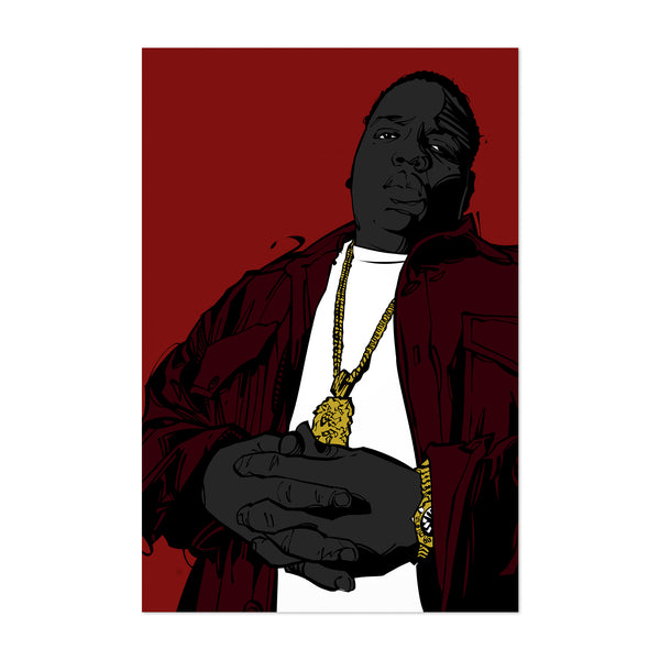 Biggie Smalls Music Notorious Art Print