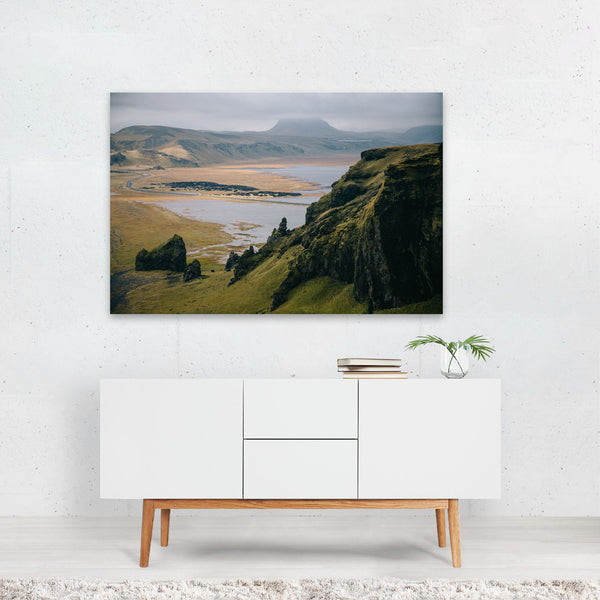 Vik Iceland Nature Photo Art Print