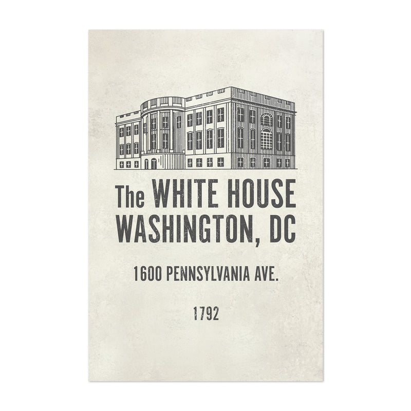 White House Washington DC Art Print