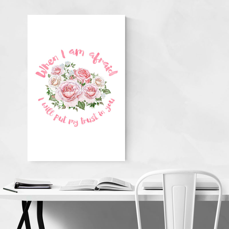 Trust in You Christian Religious Art Print