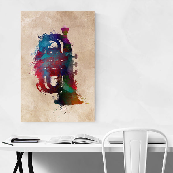 Tuba Player Gift Music Instrument Art Print