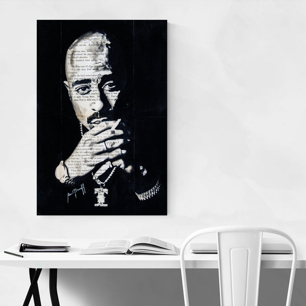 Tupac Music Rapper Pop Culture Art Print