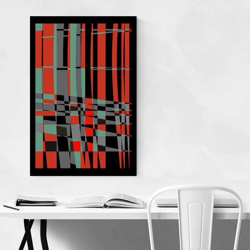 Abstract Colorful Urban Design Art Print