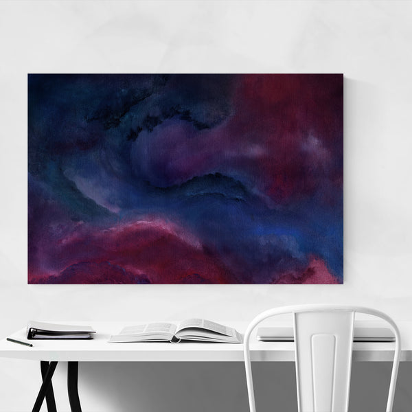 Abstract Modern Oil Painting Art Print