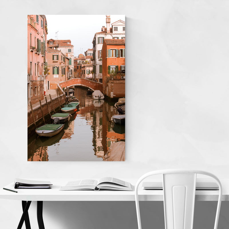 Canals Venice Italy Photography Art Print