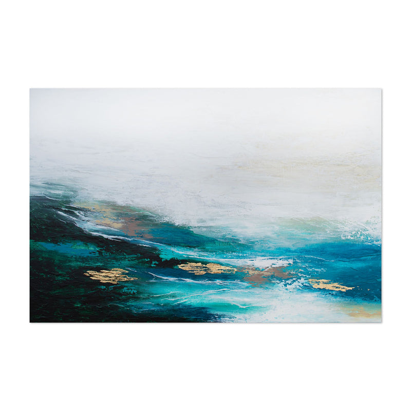 Abstract Nature Painting Art Print